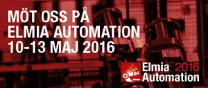 Elmia Automation 10-13 maj
