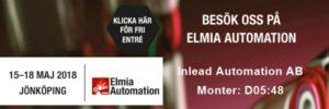Mässa Elmia Automation 15-18/5