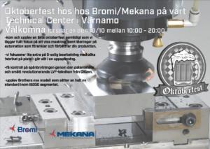Oktoberfest hos Bromi i Värnamo 10/10